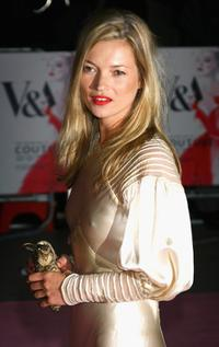 Kate Moss at the Golden Age Of Couture party.