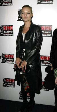 Kate Moss at the NME Carling Awards.