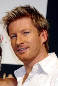 David Wenham at the press conference to promote