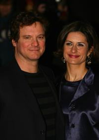 Colin Firth and guest at the world premiere of