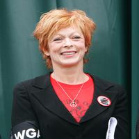 Frances Fisher at the presentation of Environmental Media Association's