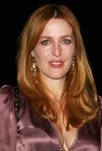 Gillian Anderson at the photocall to mark National Doodle Day.