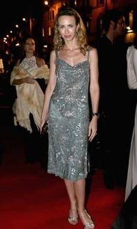 Yvonne Scio at the Steps And Stars Awards during the Rome Film Festival.