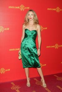 Yvonne Scio at the Roberto Cavalli at H&M collection launch party.
