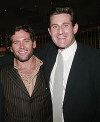 Eion Bailey and producer Joshua Maurer at the premiere of