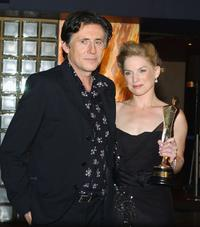 Eva Birthistle and Gabriel Byrne at the Irish Film and Television Awards.