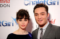 Felicity Jones and Ed Westwick at the UK premiere of