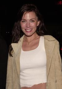 Krista Allen at the birthday party of Los Angeles club owner Chris Breed.