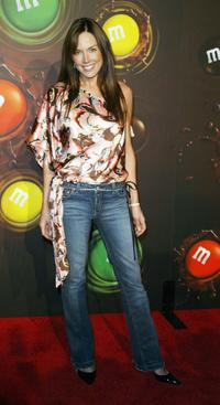 Krista Allen at the MandM's Brand City party.