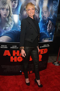 Jaime Pressly at the California premiere of