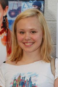 Alison Pill at the premiere of