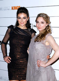 Serinda Swan and Brooke Nevin at the New York premiere of