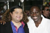 Jorge Garcia and Adewale Akinnuoye-Agbaje at the European premiere of