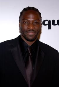 Adewale Akinnuoye-Agbaje at the Envelope Please APLA/Esquire Magazine Oscar Party.