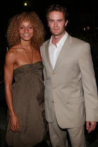 Garret Dillahunt and Guest at the North American premiere of