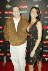 Drew Carey and Guest at the Maxim