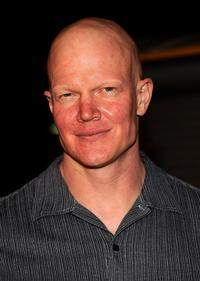 Derek Mears at the premiere of