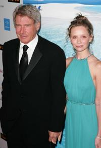 Harrison Ford and Calista Flockhart at the G'DAY USA Australia.com Black Tie Gala.