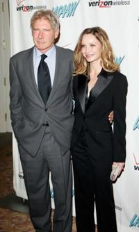 Harrison Ford and Calista Flockhart at the Los Angeles Commission on Assaults Against Women's 34th Annual Humanitarian Awards.