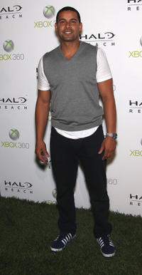 Jon Huertas at the launch of XBox 360's