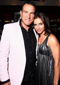 Vinnie Jones and Leonor Varela at the after party of the premiere of