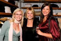 Alison Sweeney, Sherry Stringfield and Sarah Lancaster at the grand opening of Martin and Osa store benefitting Step Up Women's Network.