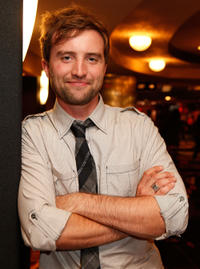 Aaron Poole at the premiere of