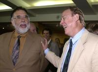 Frederic Forrest and Francis Ford Coppola at the premiere screening and party of