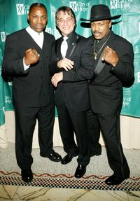 Marvis Frazier, Tony Danza and Joe Frazier at the Hearts For Hope Gala.