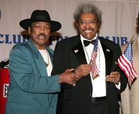 Joe Frazier and Don King at the roasting of Don King.