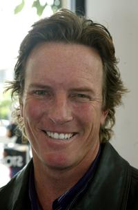 Linden Ashby at the day long Toy Drive to benefit Toys for Tots.