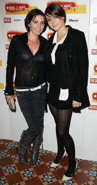 Sadie Frost and Holly Davidson at the Diesel U-Music Awards.