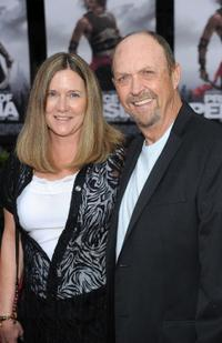 John Ashton and Guest at the premiere of