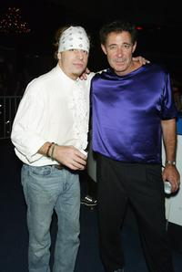 Leif Garrett and Barry Williams at the after party of