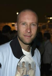 Michael Rosenbaum at the T-Mobile Sidekick II Launch Party.