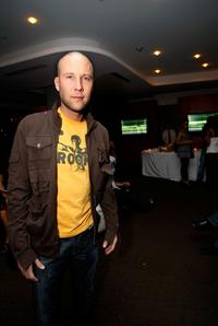Michael Rosenbaum at the reveal and launch party of LG Electronics (LG) Scarlet HD TV series.