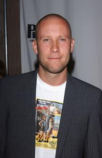 Michael Rosenbaum at the celebrity gala opening for the national tour of Movin Out.