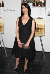 Hiam Abbass at the red carpet screening of