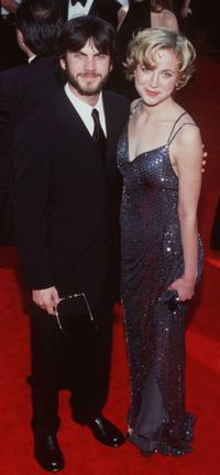 Wes Bentley and Guest at the 72nd Academy Awards.
