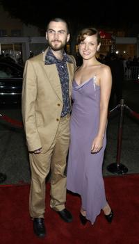 Wes Bentley and Jennifer Quanz at the premiere of