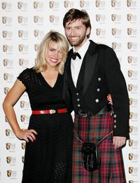 Billie Piper and David Tennant at the Pioneer British Academy Television Awards 2006.
