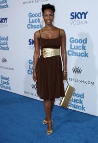 Tasha Smith at the Los Angeles premiere of