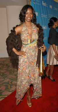 Tasha Smith at the 38th NAACP Image Awards nominees luncheon.