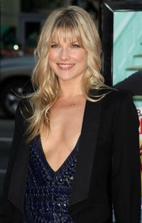 Ali Larter at the premiere of