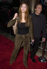 Laura San Giacomob at the premiere of