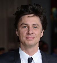 Zach Braff at the California premiere of