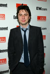 Zach Braff at the Toronto International Film Festival Entertainment Weekly party.