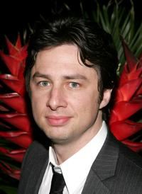 Zach Braff at the after party premiere of