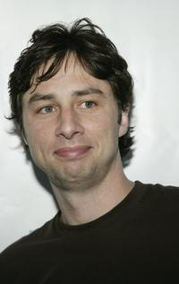 Zach Braff at the listening party for