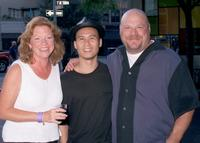 Becky Ann Baker, B.D. Wong and Kevin Chamberlin at the Drama Department 2nd Annual Company Picnic.